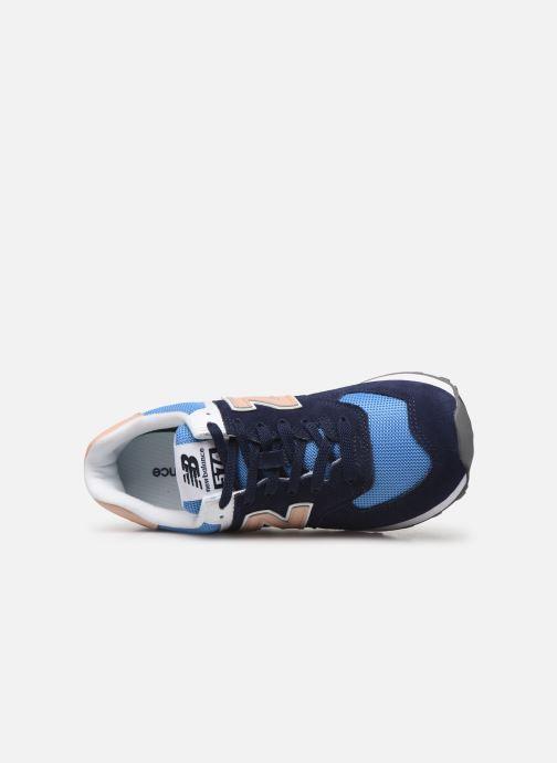 Sneakers New Balance WL574 Blå se fra venstre