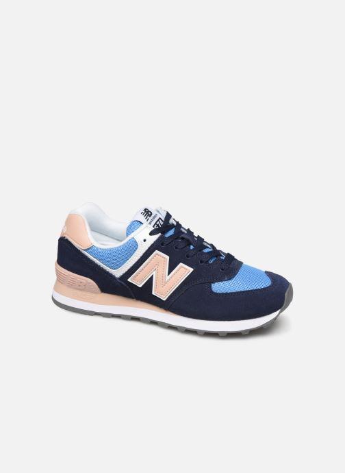 Sneakers New Balance WL574 Blå detaljeret billede af skoene