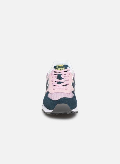 Sneakers New Balance WL574 Pink se skoene på