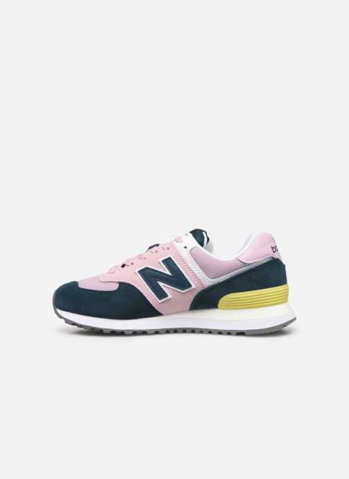 Sneakers New Balance WL574 Pink se forfra