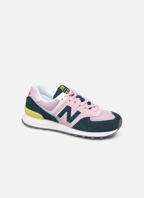 Trainers New Balance WL574 Pink detailed view/ Pair view