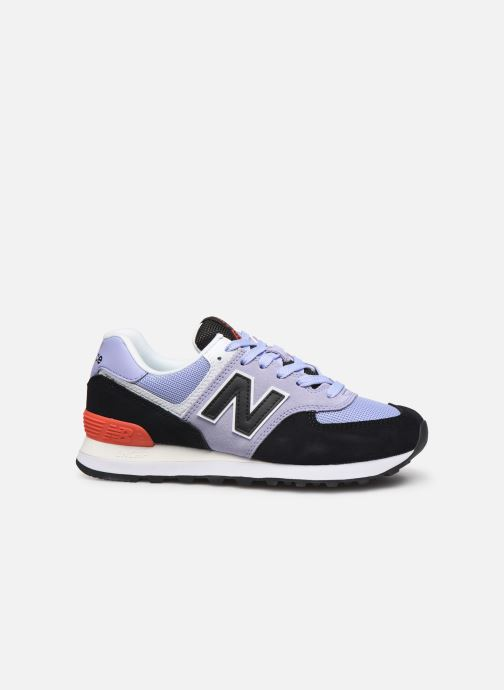 Trainers New Balance WL574 Purple back view