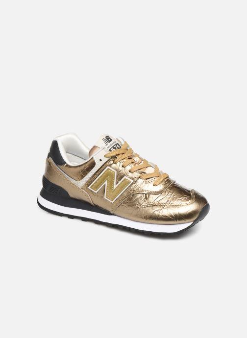 New Balance WL574 (Goud en brons) - Sneakers chez Sarenza ...