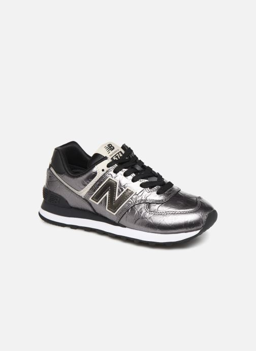 Sneakers New Balance WL574 Zilver detail
