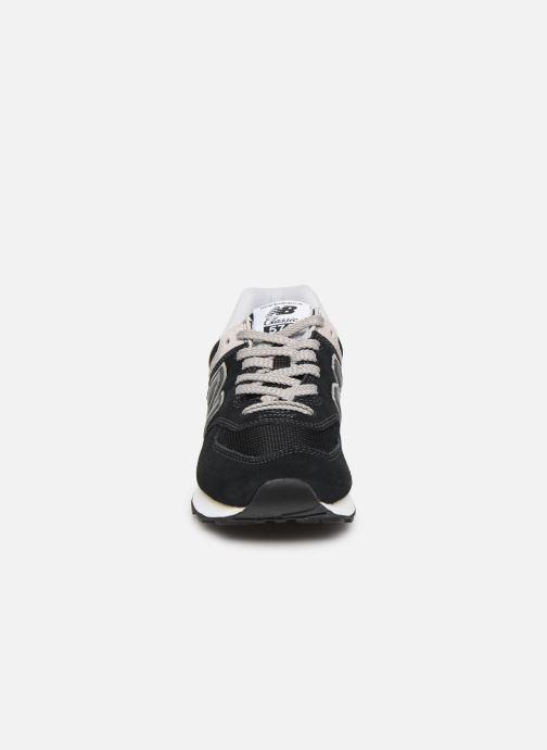 Trainers New Balance WL574 Black model view