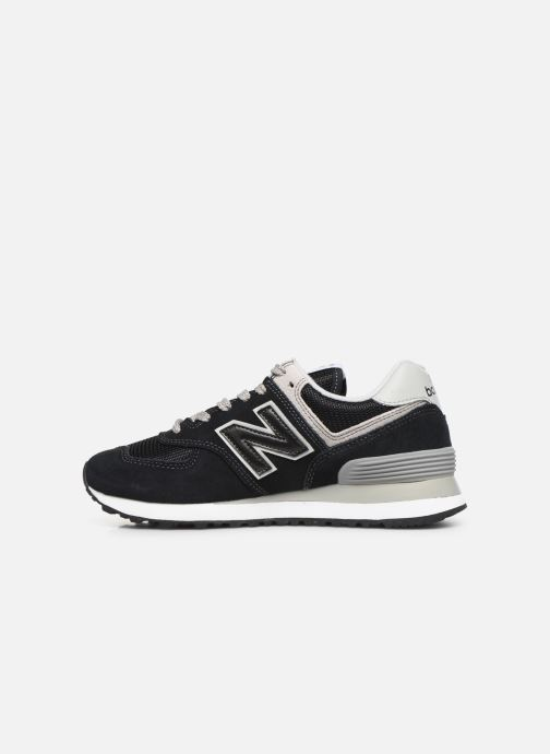 Trainers New Balance WL574 Black front view