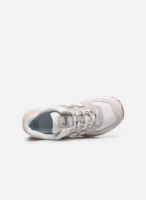 Sneakers New Balance WL574 Pink se fra venstre