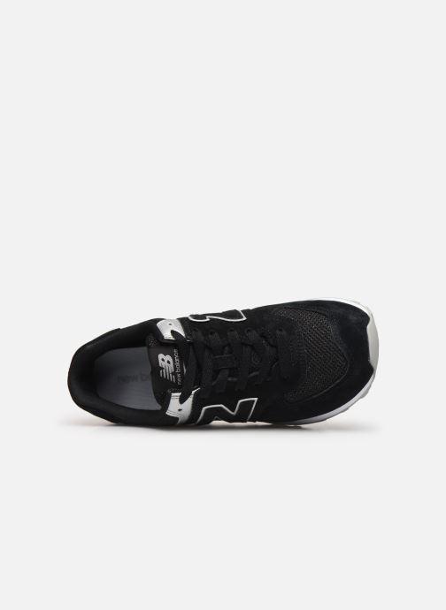 Baskets New Balance WL574 Noir vue gauche