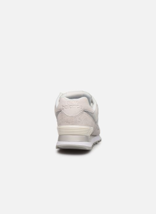 Baskets New Balance WL574 Blanc vue droite