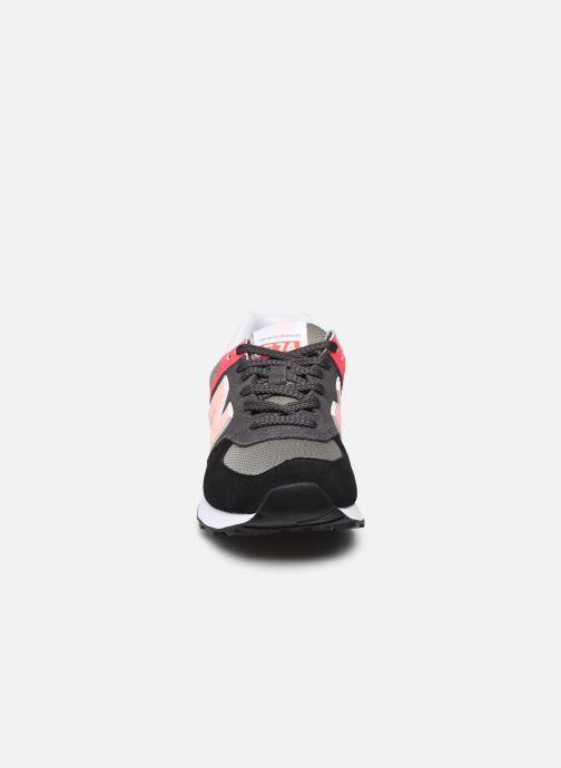 Sneakers New Balance WL574 Nero modello indossato