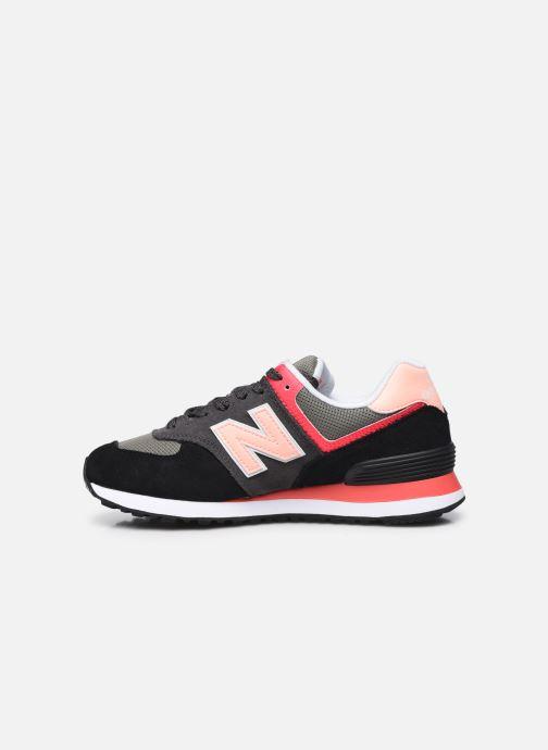 Sneakers New Balance WL574 Nero immagine frontale