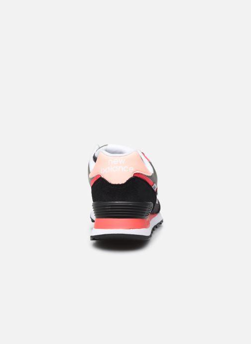 Sneakers New Balance WL574 Nero immagine destra