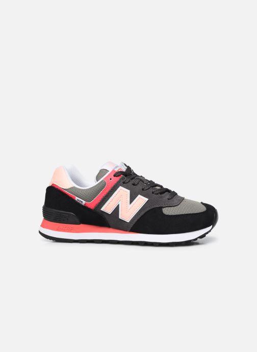 Sneakers New Balance WL574 Nero immagine posteriore