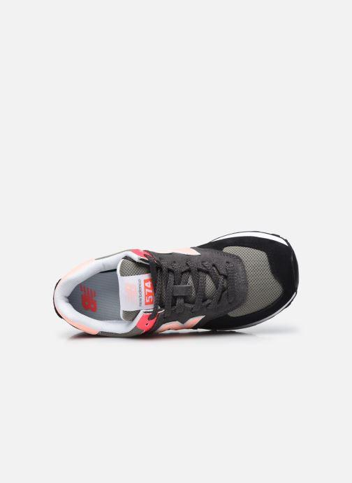 Sneakers New Balance WL574 Nero immagine sinistra