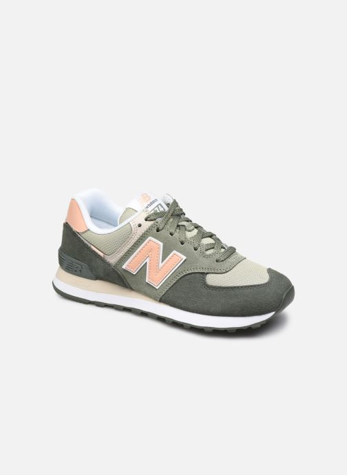 Sneakers New Balance WL574 Groen detail