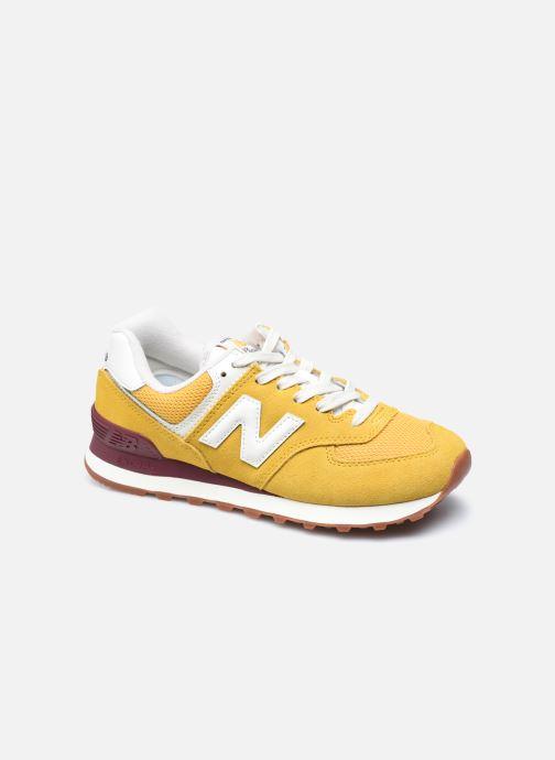 Sneaker New Balance WL574 gelb detaillierte ansicht/modell