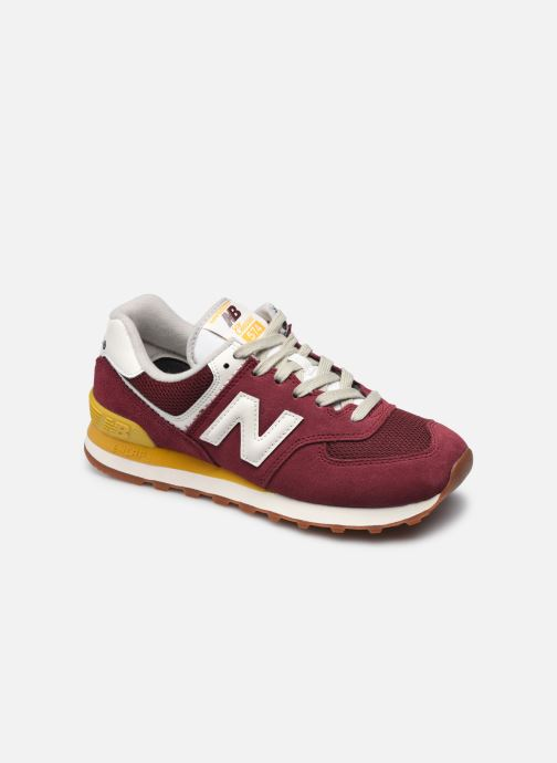 Sneakers New Balance WL574 Rood detail