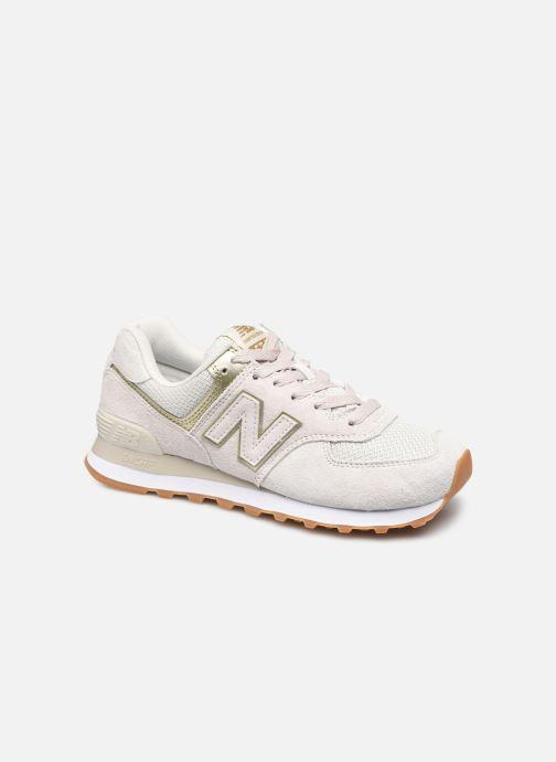 Sneaker New Balance WL574 weiß detaillierte ansicht/modell