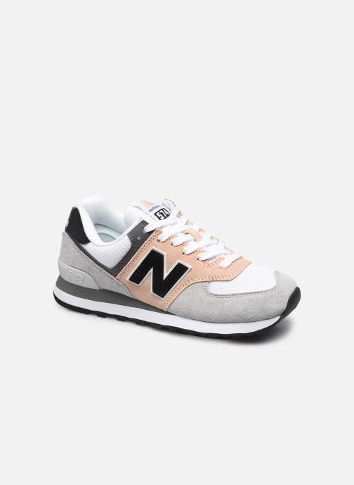 Sneaker New Balance WL574 weinrot detaillierte ansicht/modell