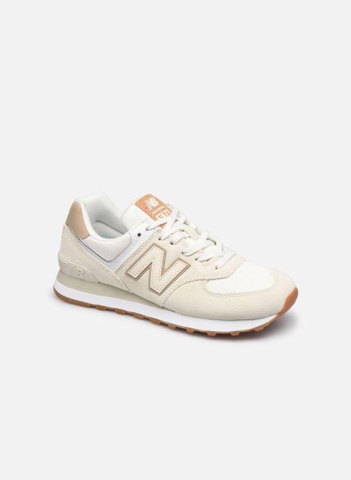 Sneaker New Balance WL574 beige detaillierte ansicht/modell