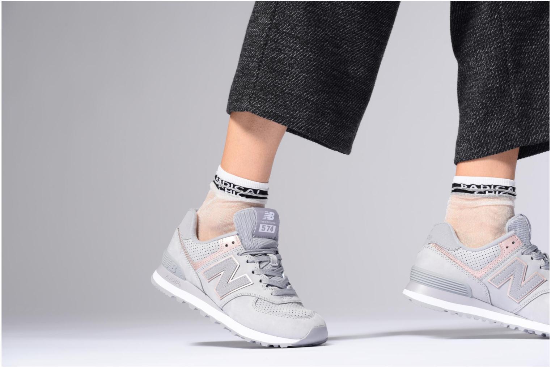 Sneakers New Balance WL574 Sort se forneden
