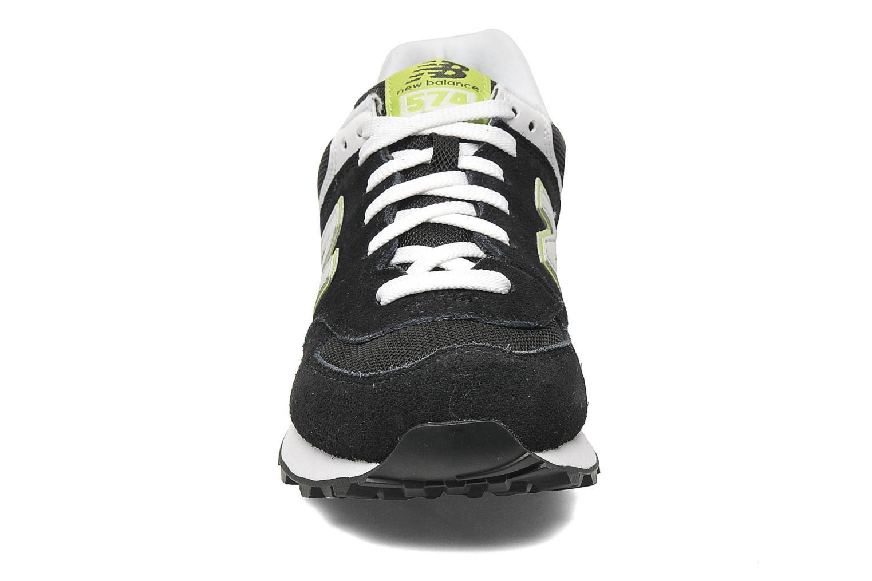 Sneakers New Balance WL574 Sort se skoene på