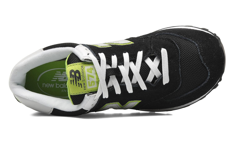 Sneakers New Balance WL574 Sort se fra venstre