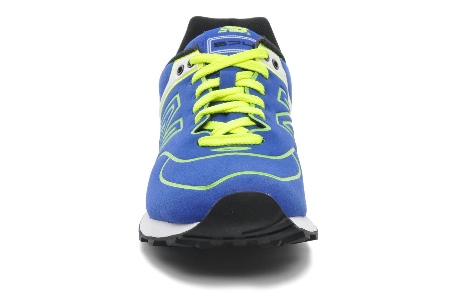 Trainers New Balance WL574 Blue model view