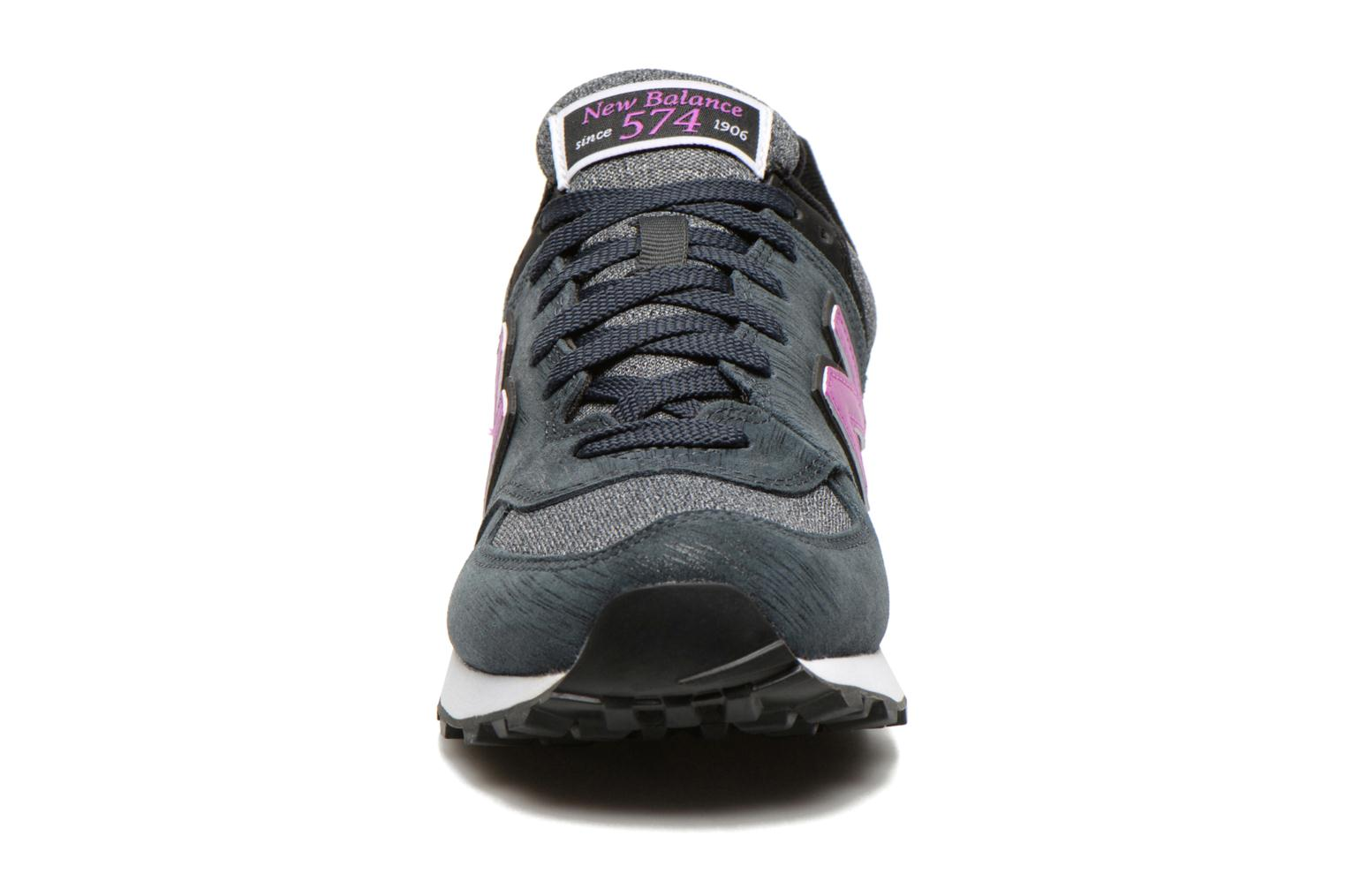 Trainers New Balance WL574 Grey model view