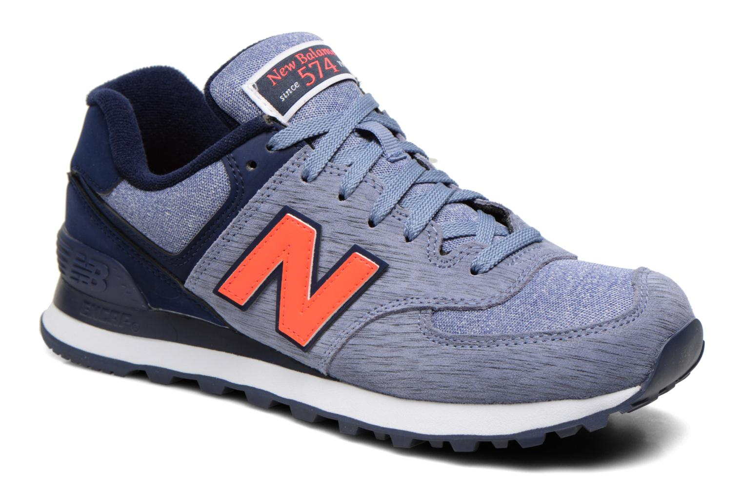 Sneakers New Balance WL574 Paars detail