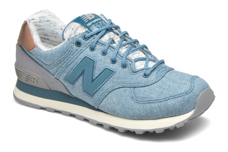 new balance wl574 bleu