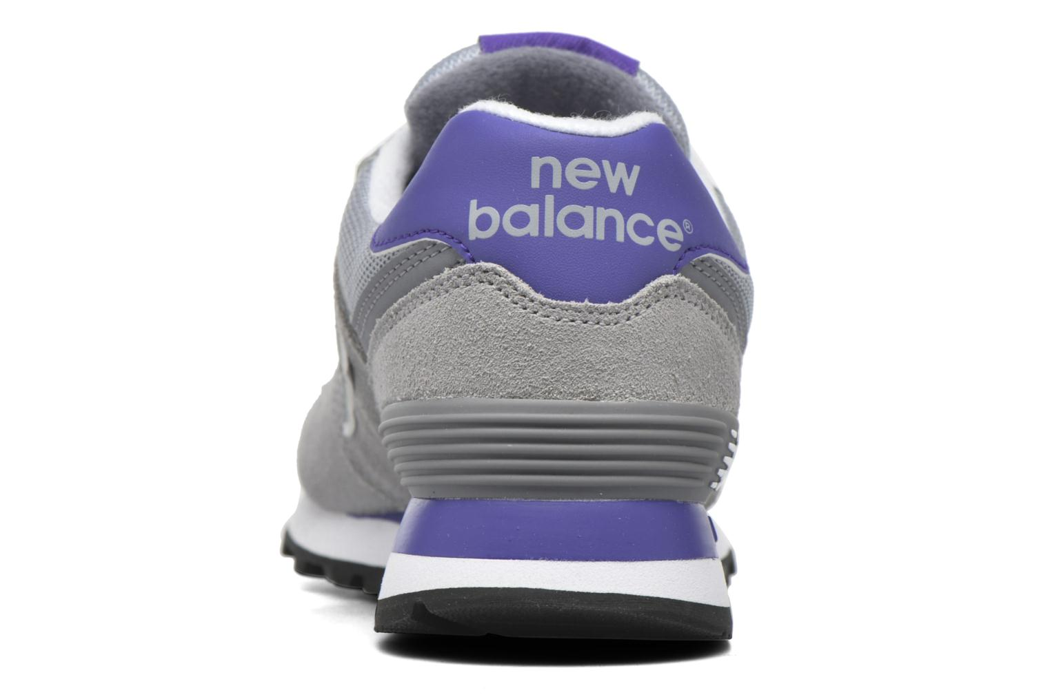 Trainers New Balance WL574 Grey view from the right