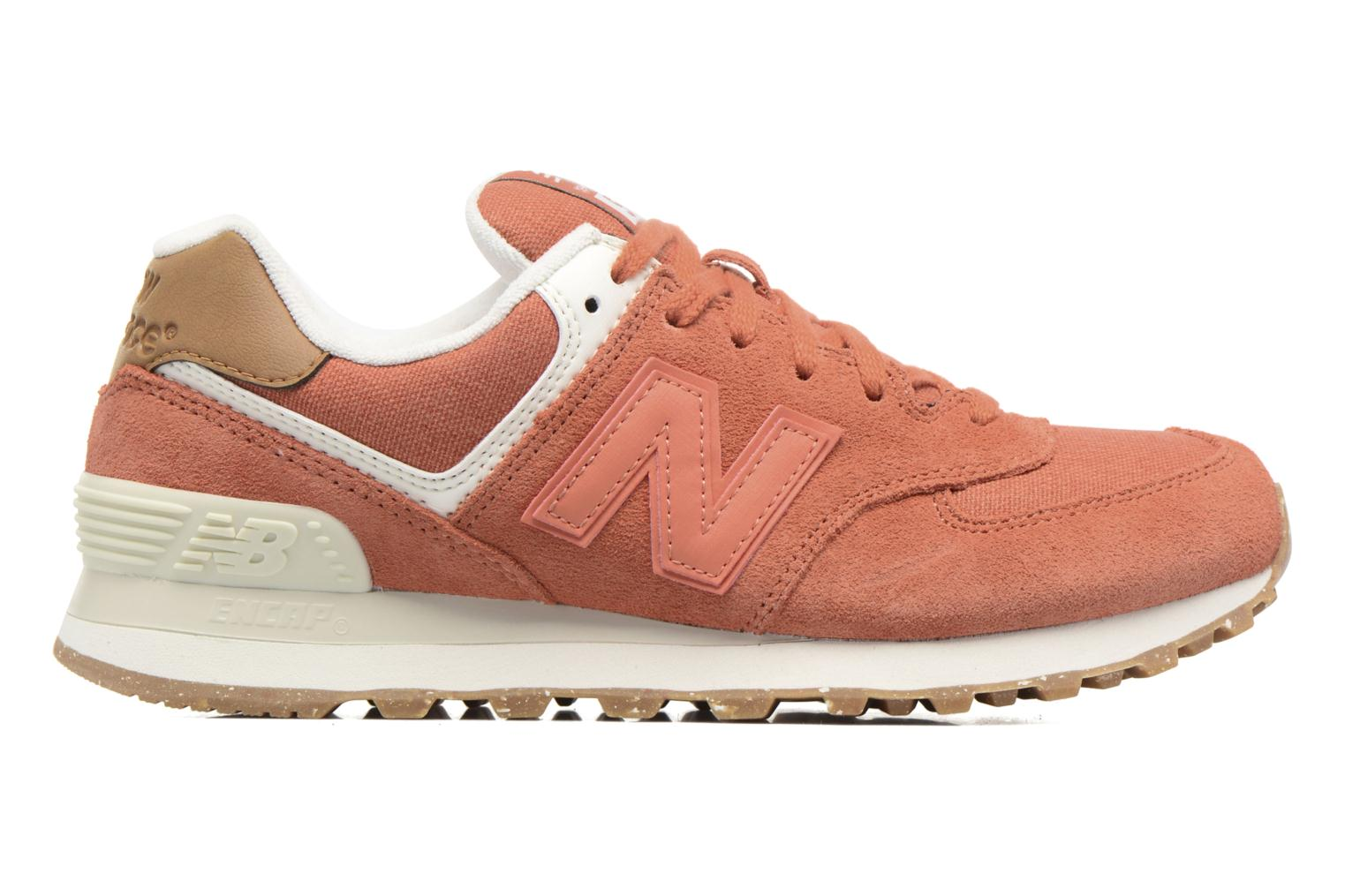 Trainers New Balance WL574 Orange back view