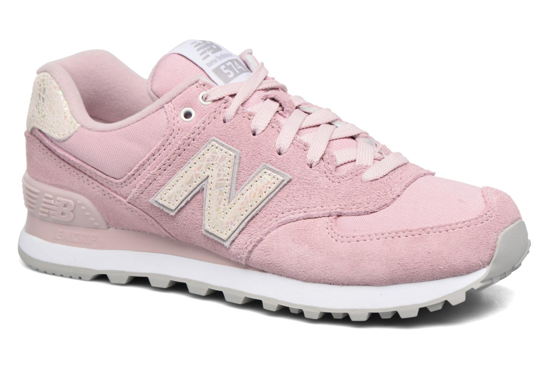 Sneakers New Balance WL574 Roze detail