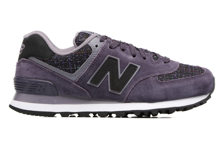 Trainers New Balance WL574 Purple back view