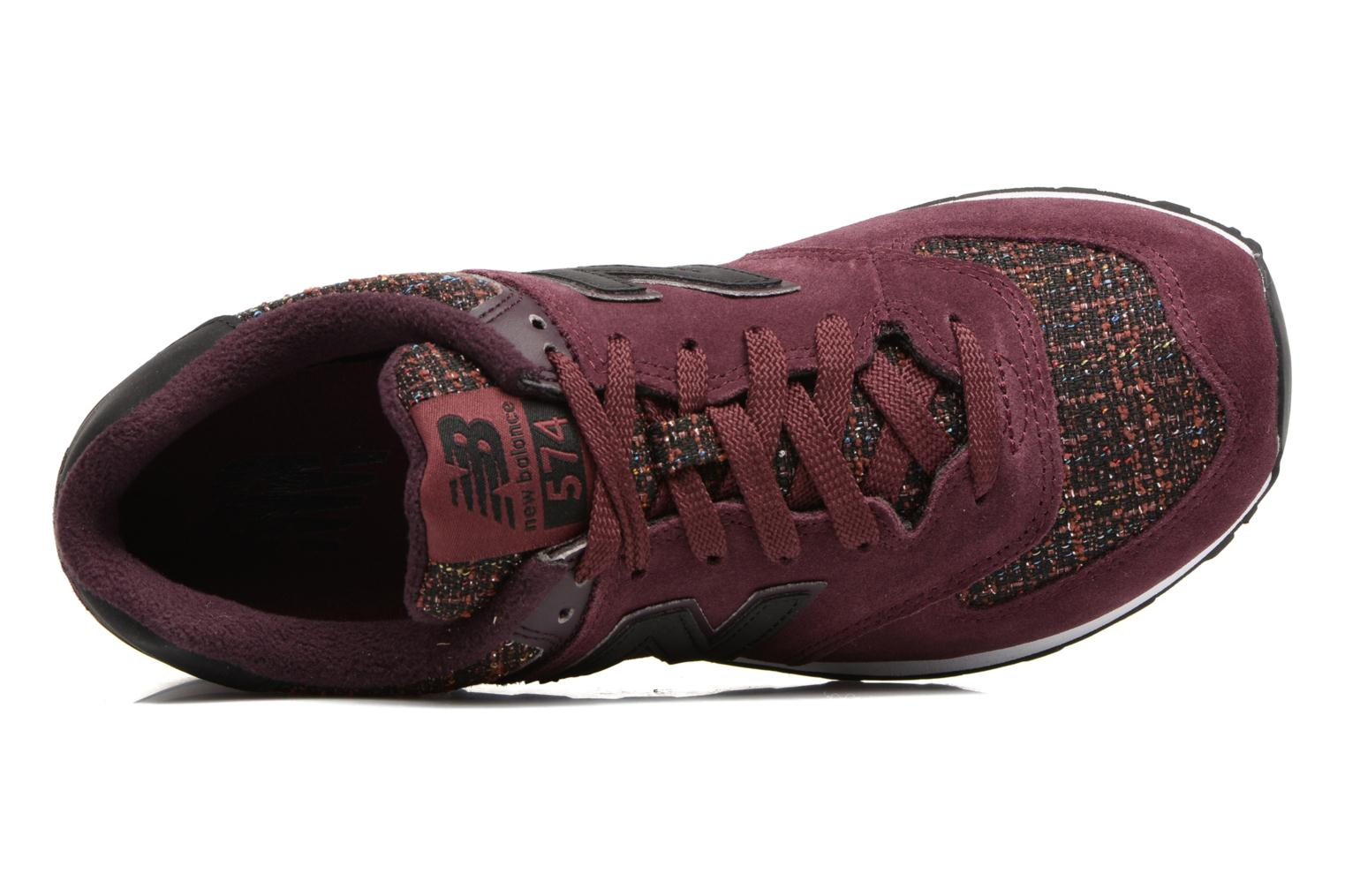 Sneakers New Balance WL574 Bordeaux links