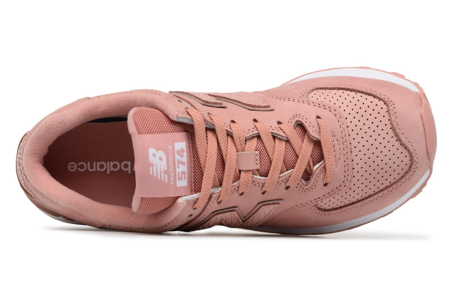 Sneakers New Balance WL574 Rosa immagine sinistra
