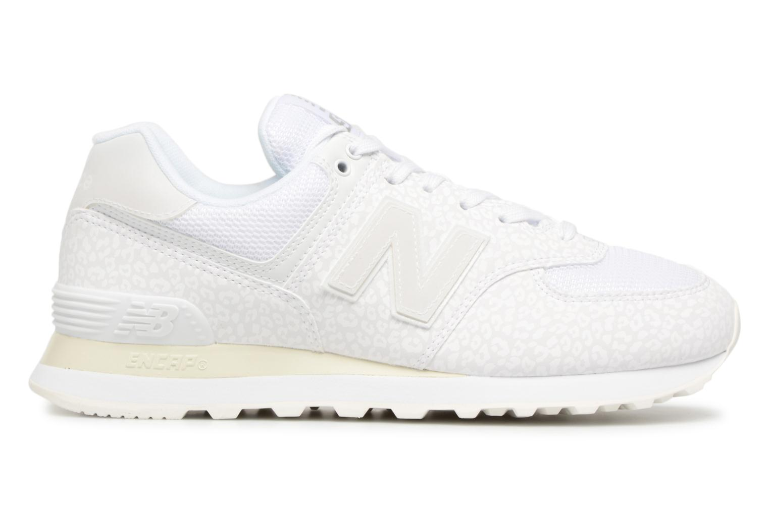 Sneakers New Balance WL574 Wit achterkant