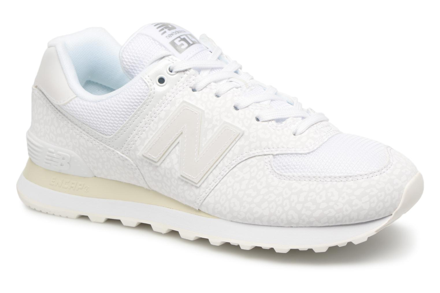 Sneakers New Balance WL574 Wit detail