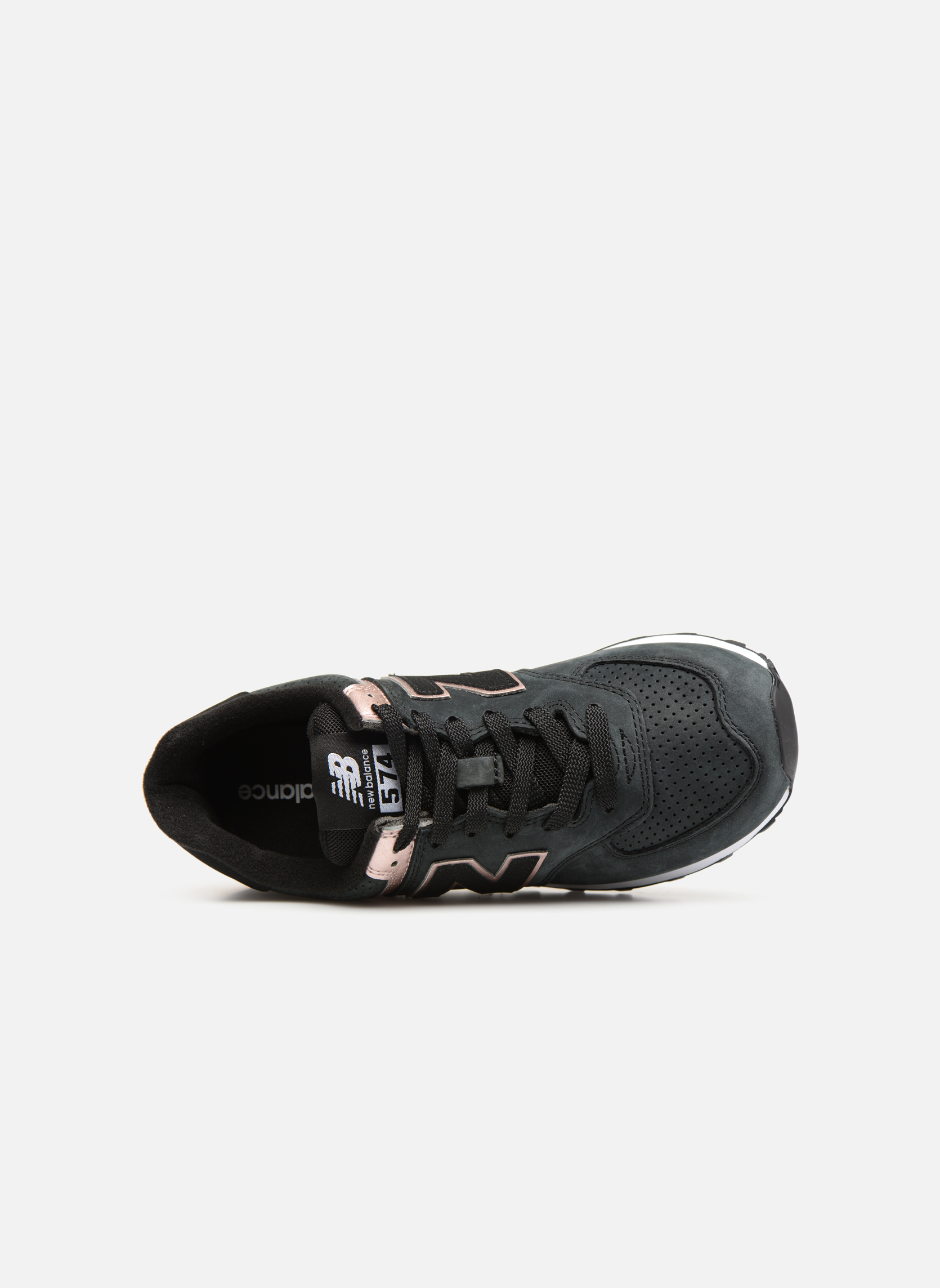 pink New Balance Black Metallic Wl574 wFAXC