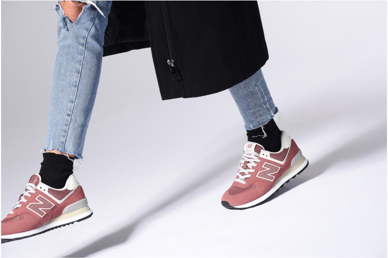 Sneakers New Balance WL574 Multicolore immagine dal basso