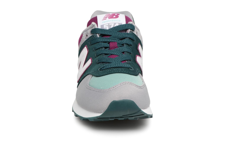 Sneakers New Balance WL574 Multicolore modello indossato