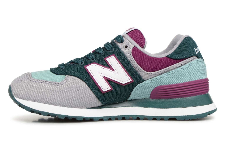 Sneakers New Balance WL574 Multicolore immagine frontale