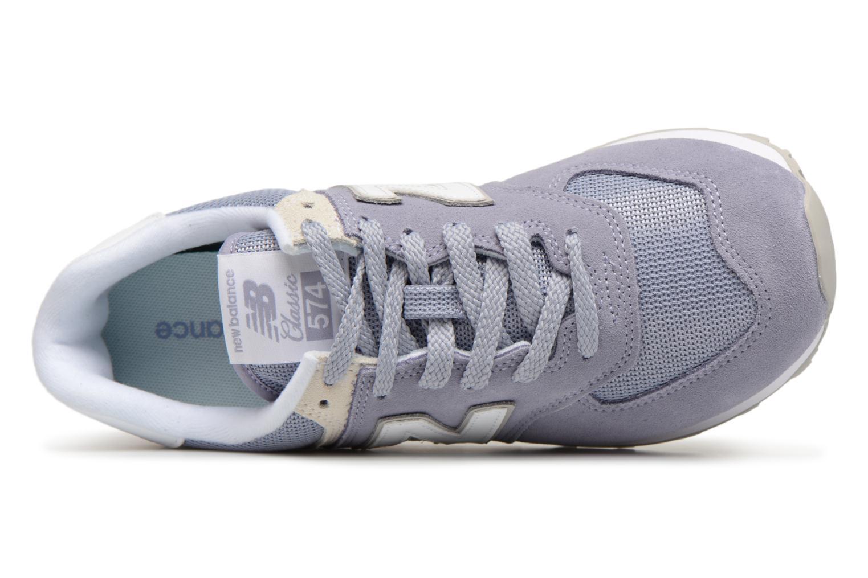New Balance WL574 WL574 WL574 (Gris) - Baskets en Más cómodo Chaussures femme pas cher homme et femme 078cc2