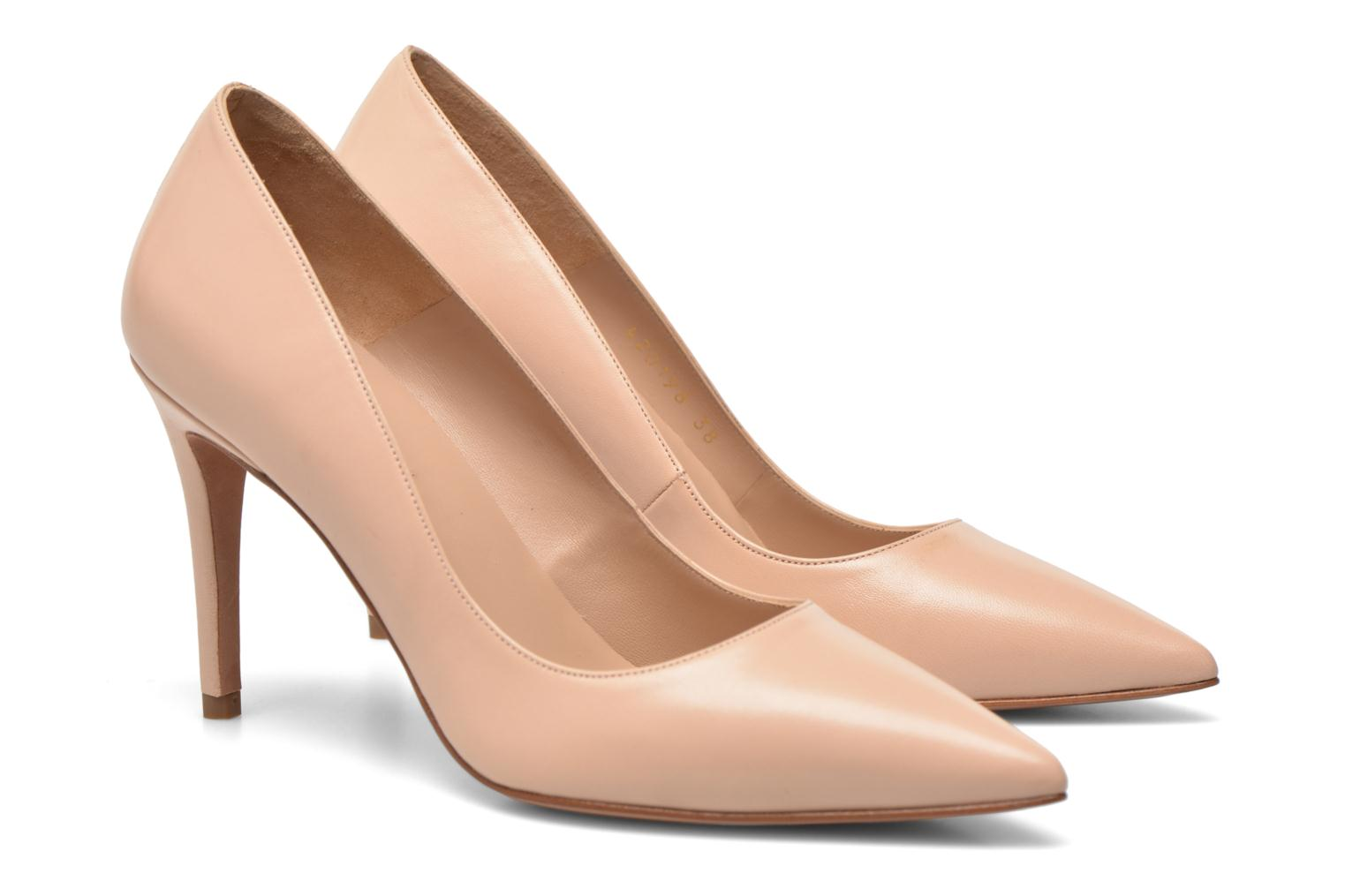 Pumps Pura Lopez Astoria Beige 3/4 bild