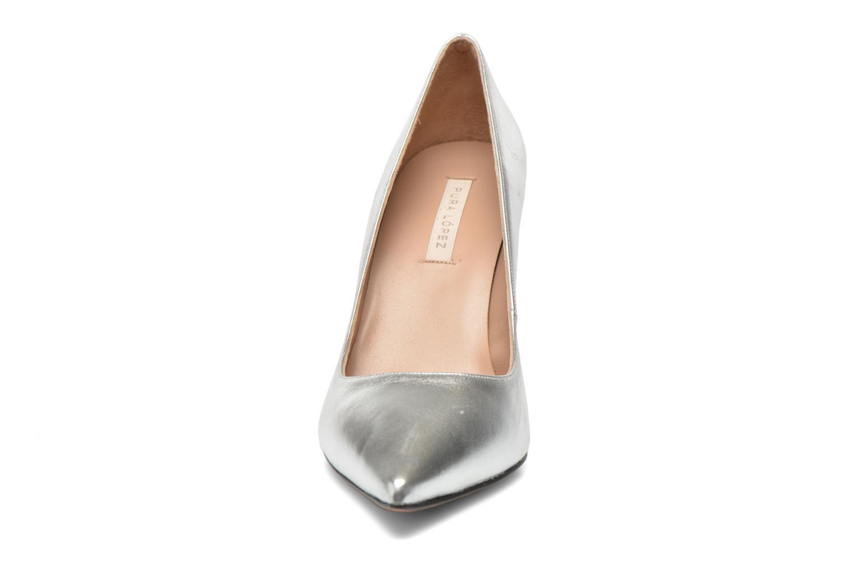 High heels Pura Lopez Astoria Silver model view