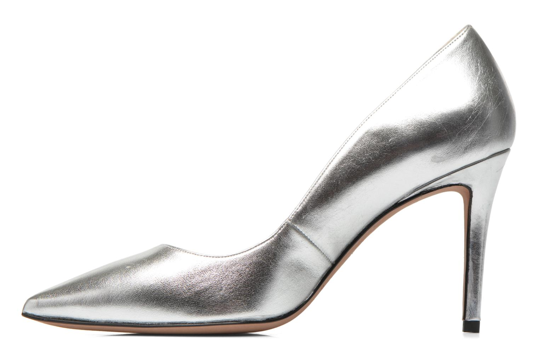 High heels Pura Lopez Astoria Silver front view