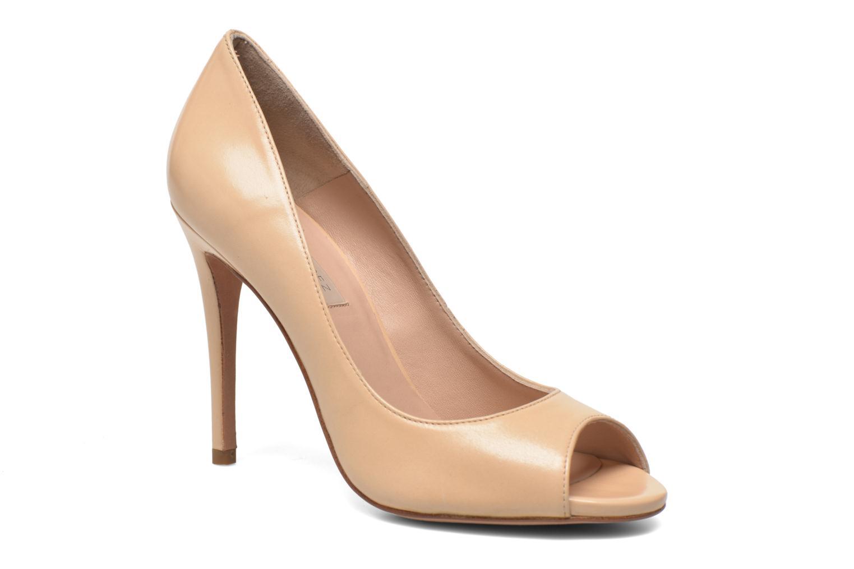 Høje hæle Pura Lopez Gabriella Beige detaljeret billede af skoene
