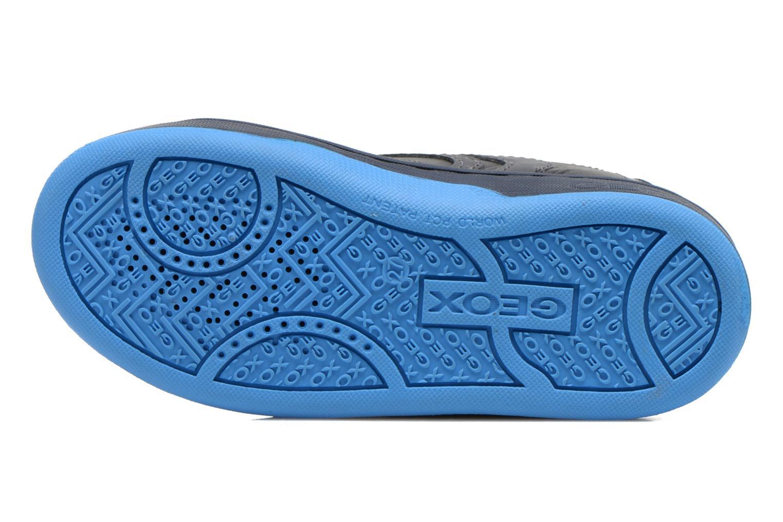 Baskets Geox J Maltin B. A Bleu vue haut