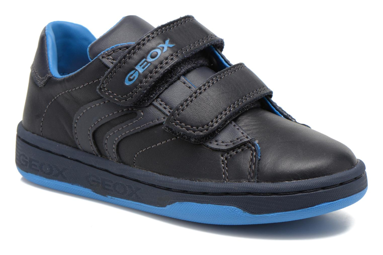 Baskets Geox J Maltin B. A Bleu vue détail/paire